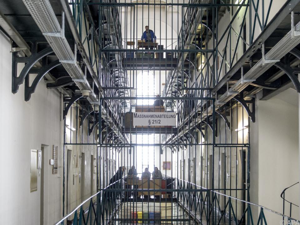 Zwischenfall in der Haftanstalt Karlau