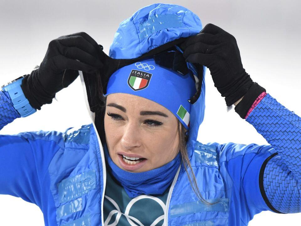 doro dorothea wierer olympia Pyeongchang 2018 Winter Olympics