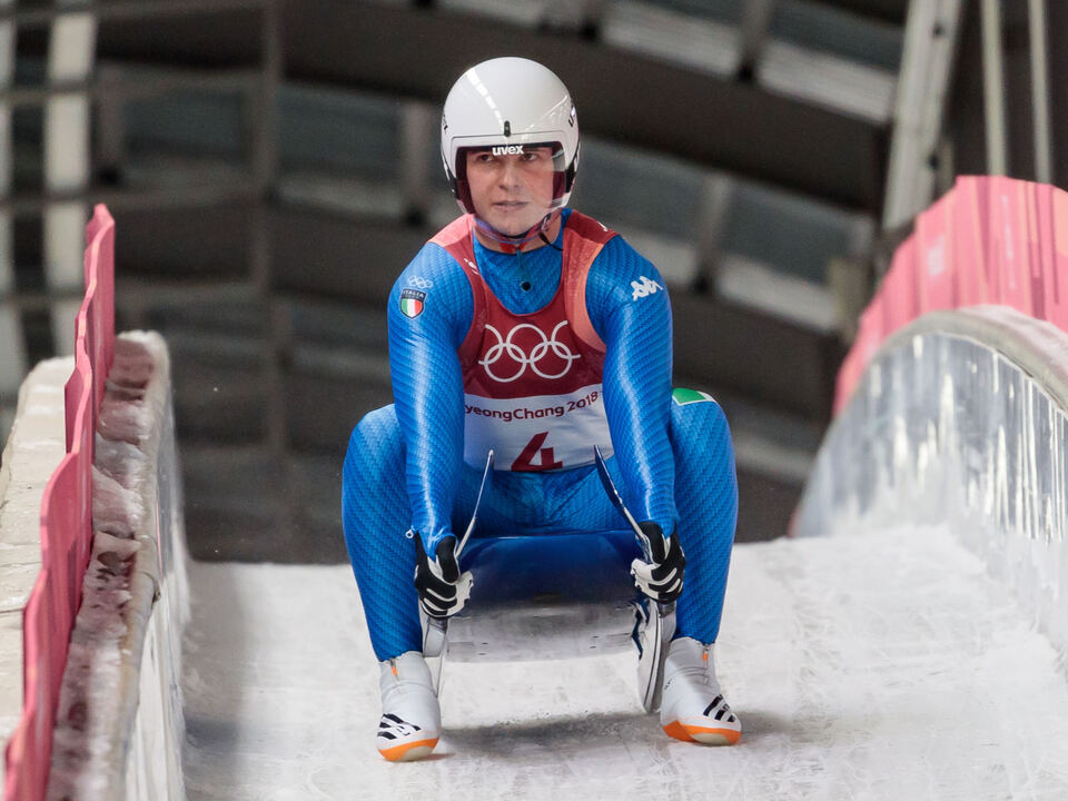 dominik fischnaller olympia OLYMPISCHE WINTERSPIELE PYEONGCHANG 2018: RODELN EINSITZER / HERREN: FISCHNALLER (ITA)