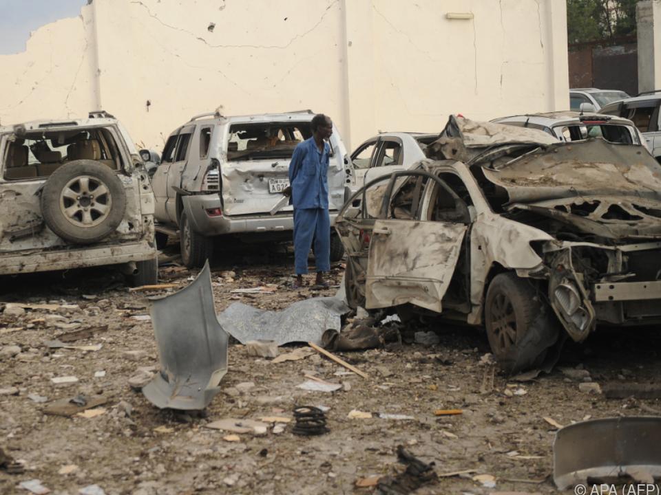 Al-Shabaab-Miliz bekannte sich zu den Anschlag