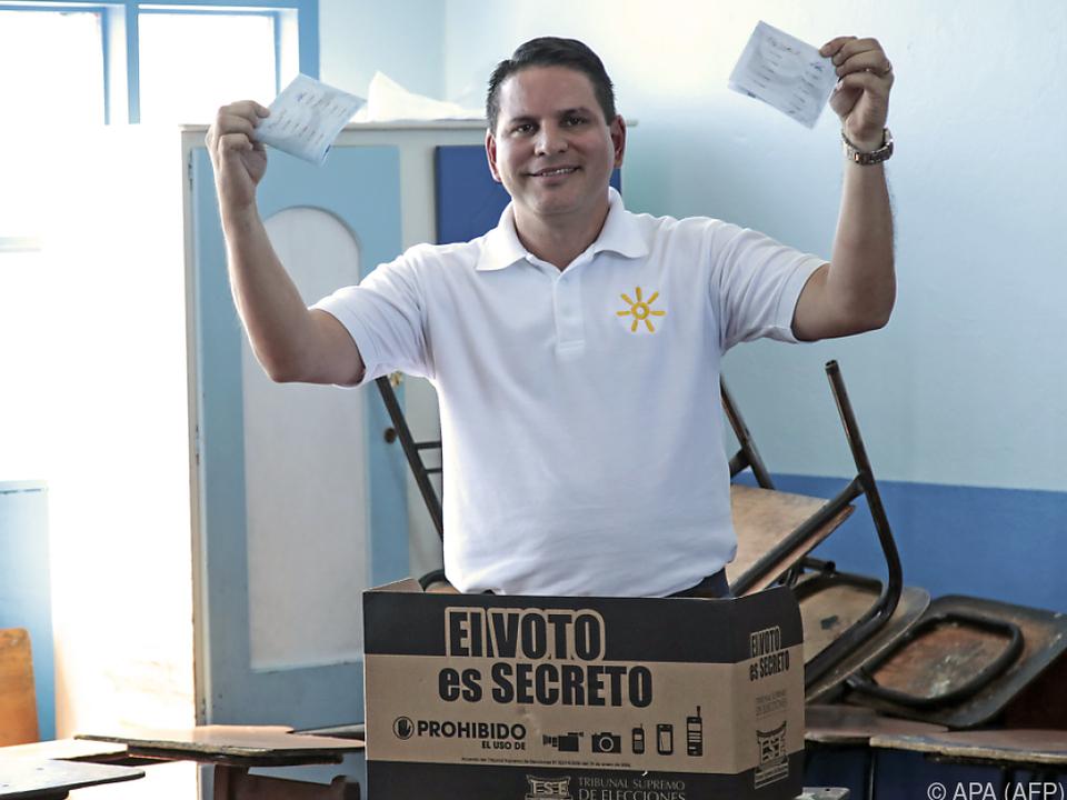 Alvarado bekam zwar die meisten, aber nicht genügend Stimmen