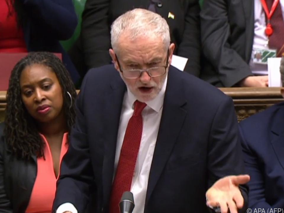 Am Montag will sich Labour-Chef Corbyn in einer Rede dazu äußern