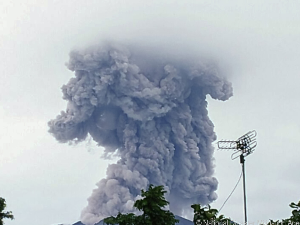 Angst vor gewaltigem Ausbruch neu entflammt