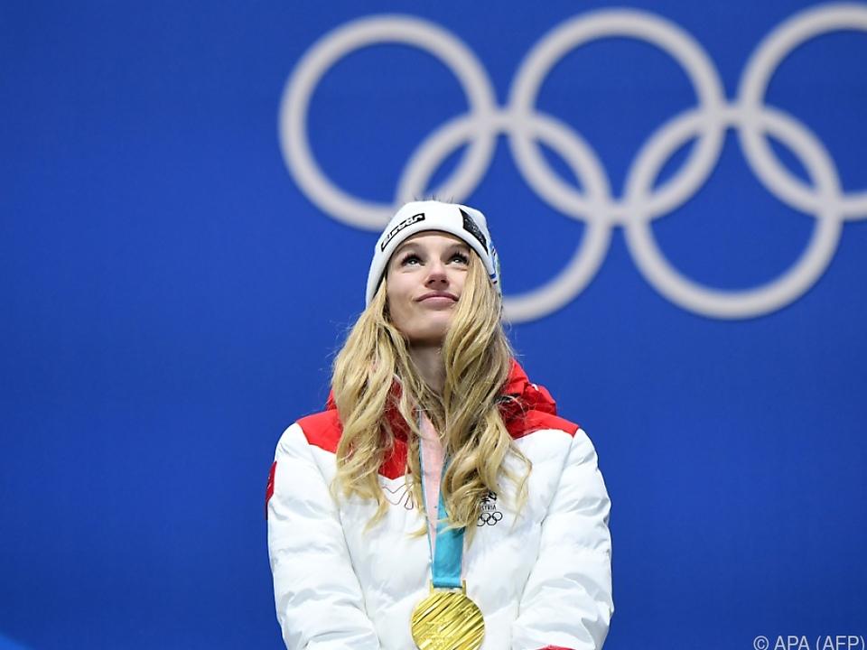 Anna Gasser gewann eine der bisher fünf Goldenen