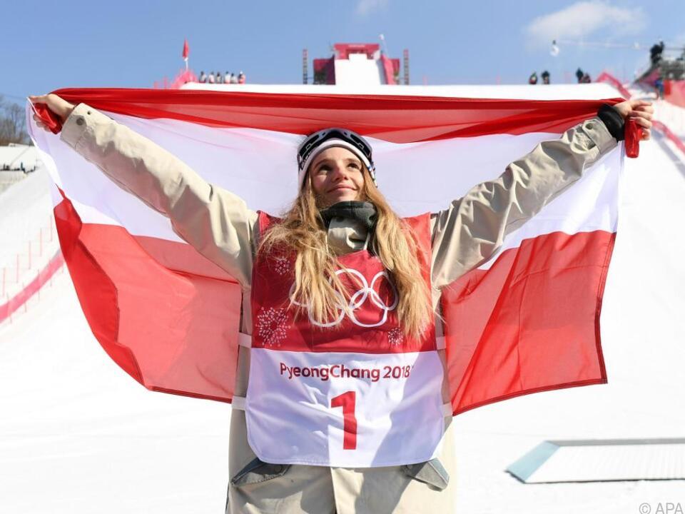 Anna Gasser triumphierte im Big-Air-Bewerb
