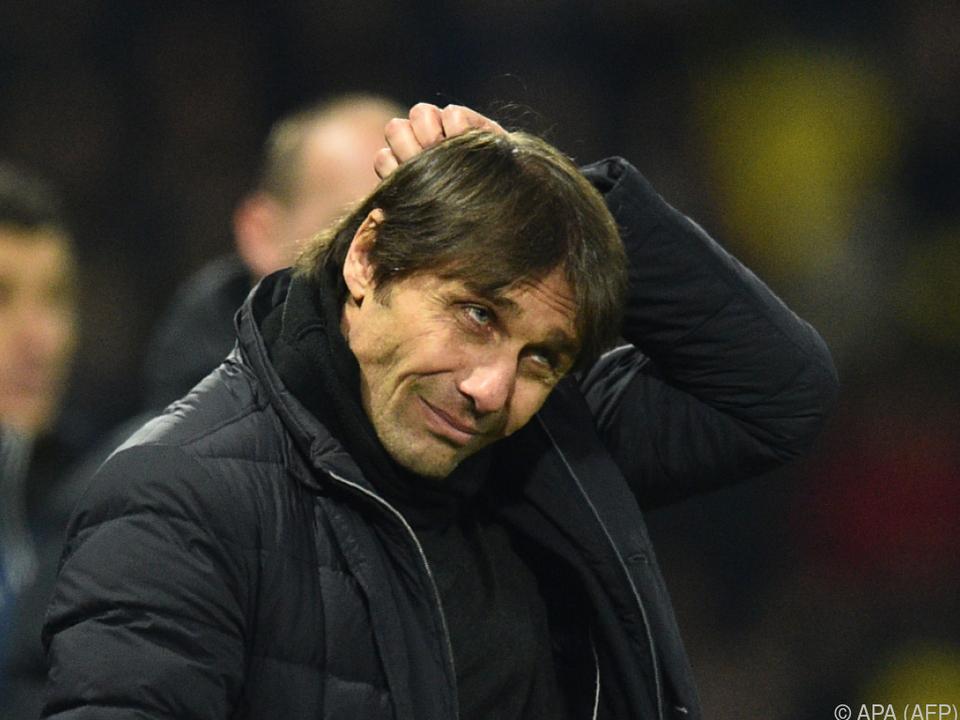 Antonio Conte nach weiterer Blamage unter Druck