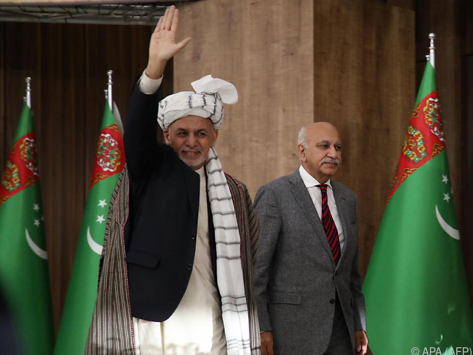 Ashraf Ghani will als Gegenleistung Friedensgespräche