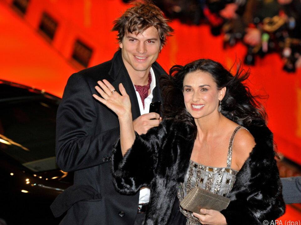 Zuvor war Ashton Kutcher mit Demi Moore verheiratet