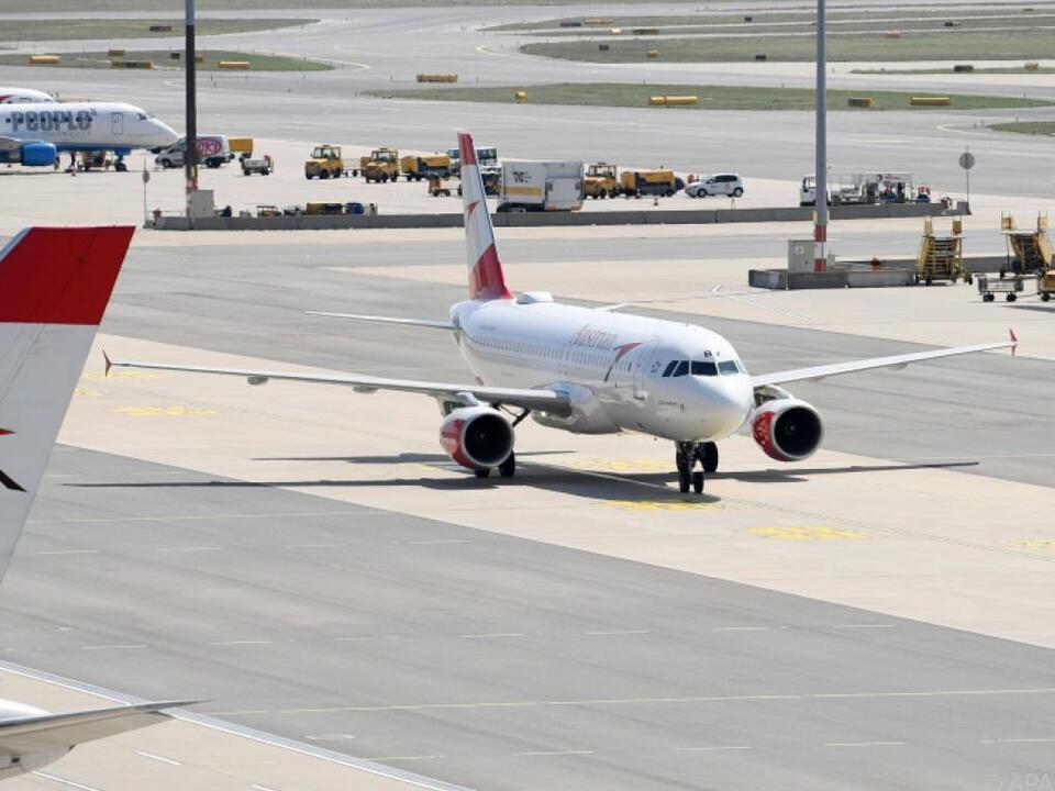 AUA als Mitglied der Lufthansa-Group betroffen