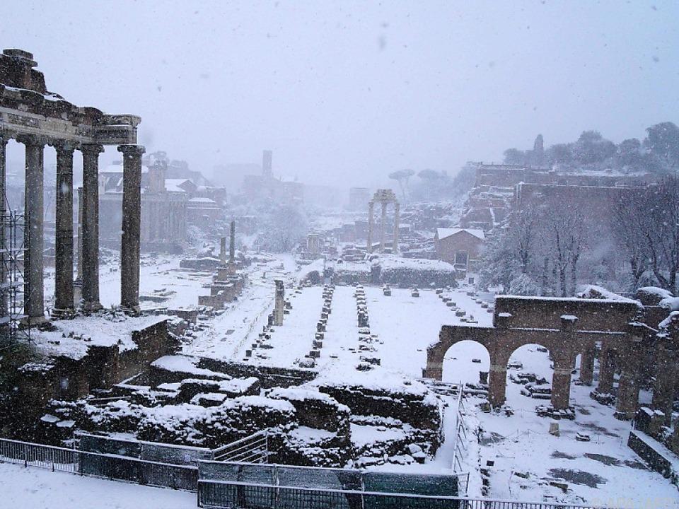 Auch in Rom blieben die Schulen geschlossen