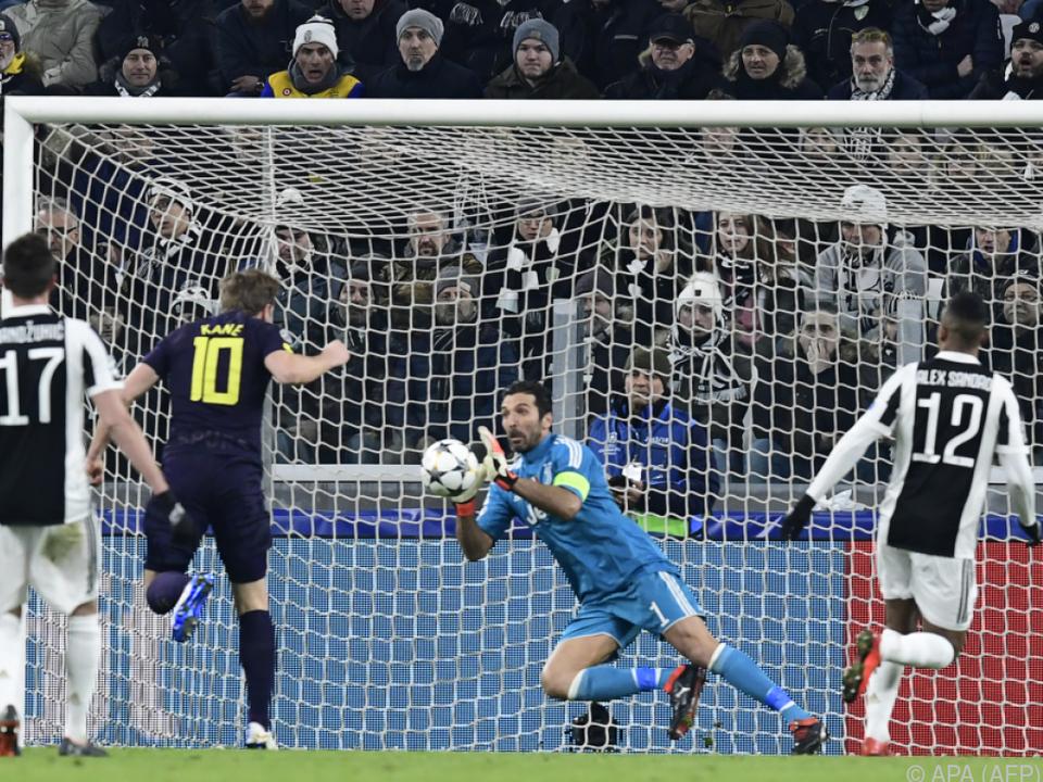 Auch Tormann Buffon konnte die Punkteteilung nicht verhindern