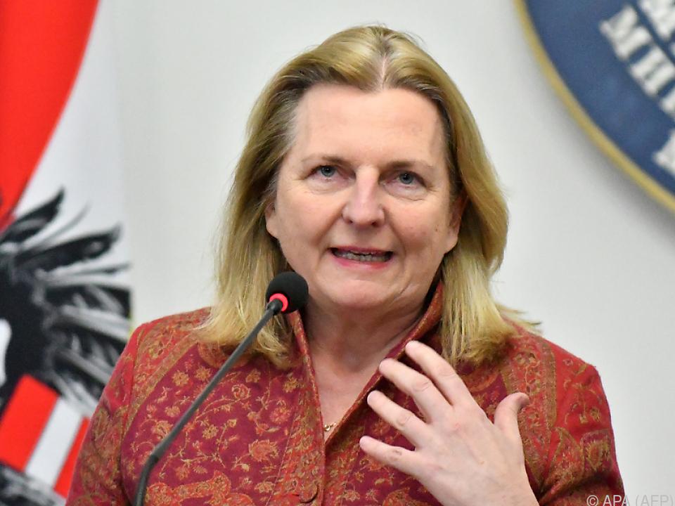 Außenministerin Kneissl auf Besuch in Bosnien-Herzegowina