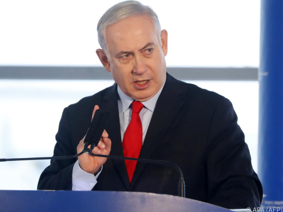 Benjamin Netanyahu ist in München