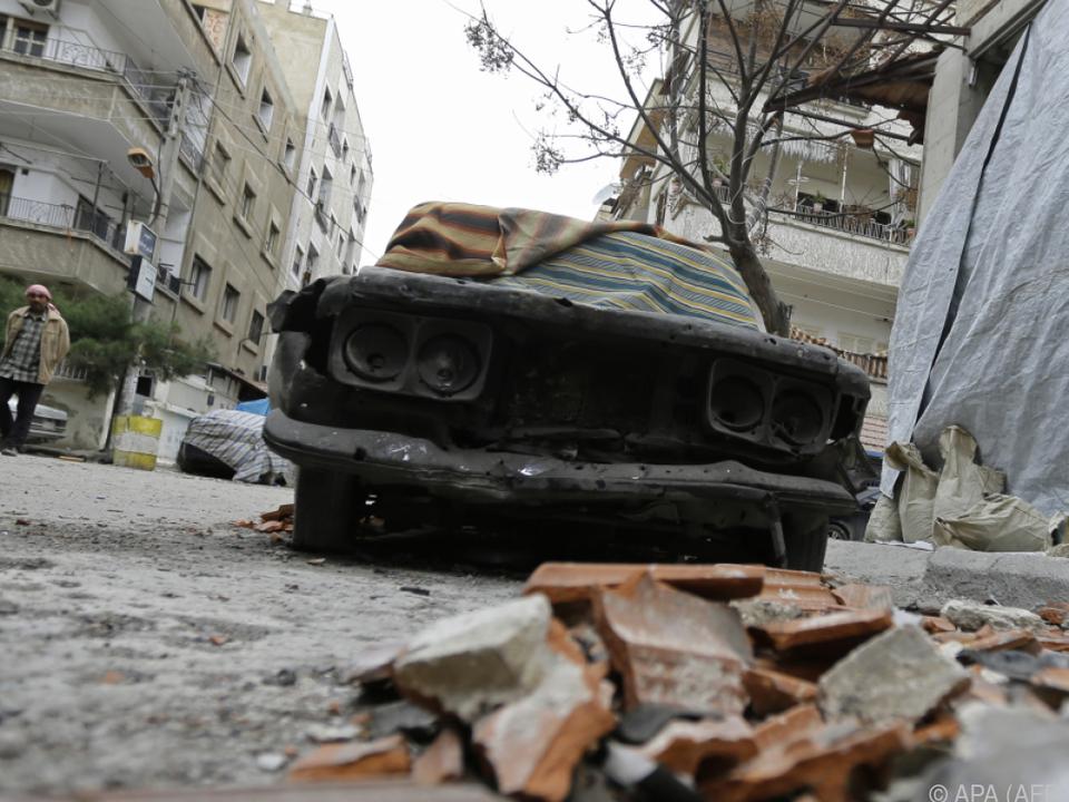 Berichte sprechen von Hunderten Toten und Verletzten