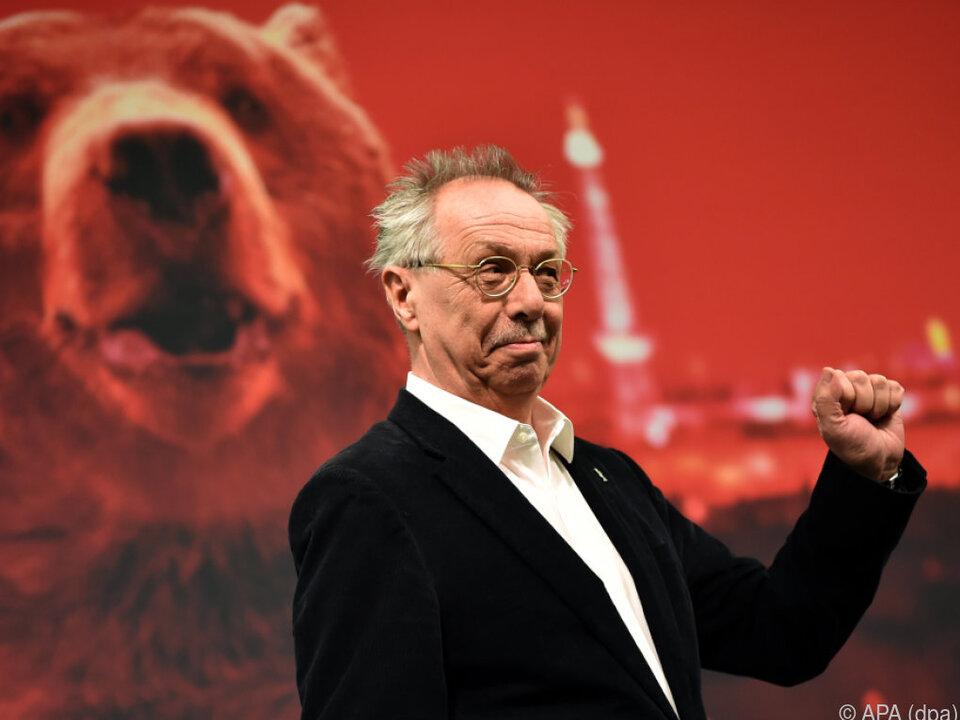 Berlinale-Direktor Dieter Kosslick bei der Programmvorstellung