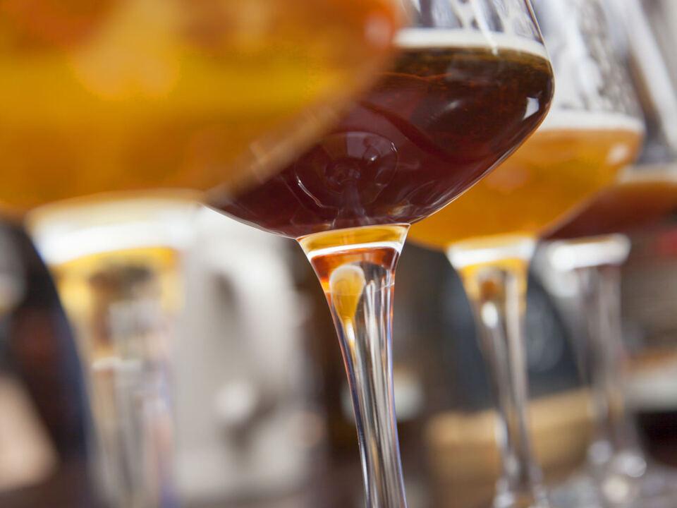 Südtirol, Bierbrauer, Microbrauereien, Bozen, Batznhäusl, Degustationsglas,
