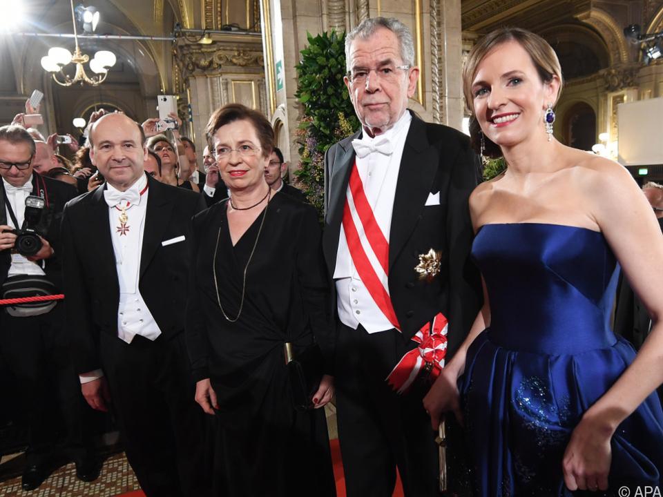 Bundespräsident Van der Bellen wird den Opernball besuchen
