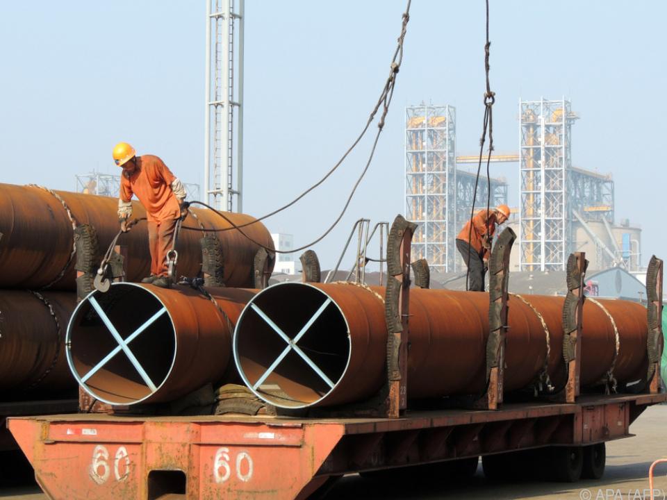 China will seine Stahlproduktion schützen