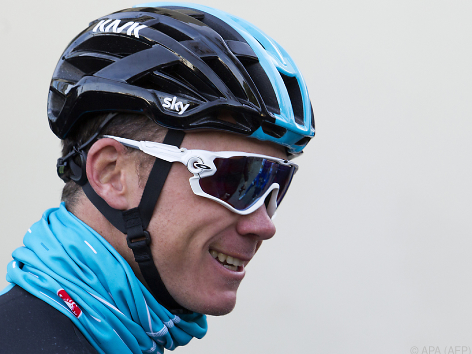 Chris Froome droht eine Sperre