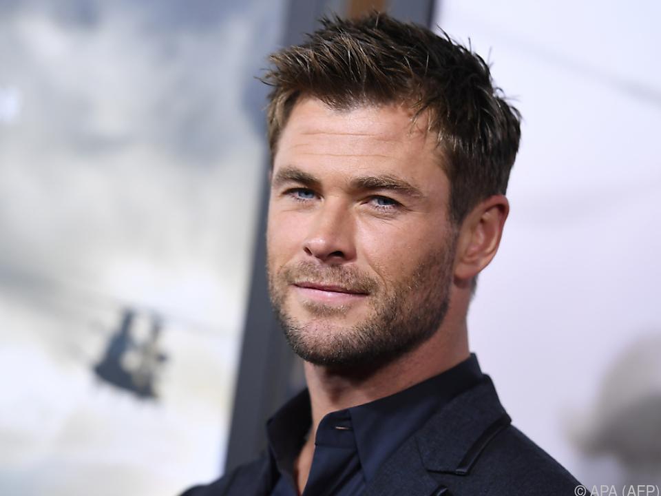 Chris Hemsworth führte das Publikum hinters Licht