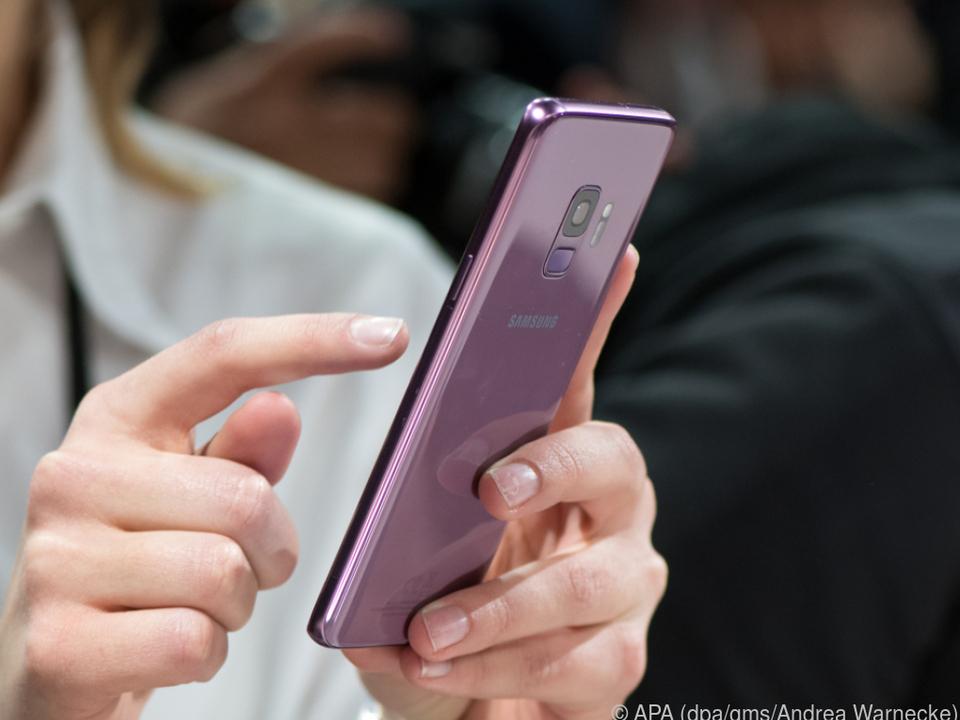 Das Galaxy S9 hat eine variable Blende für schwierige Lichtverhältnisse