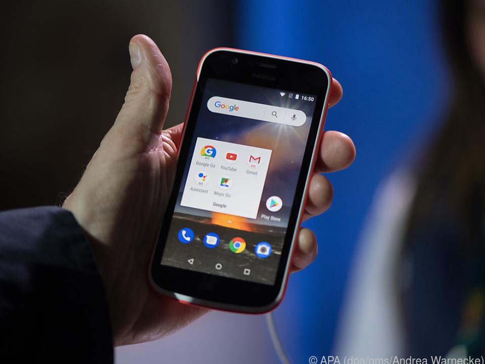 Das neue Nokia 1: Einsteigertelefon mit sparsamem Betriebssystem