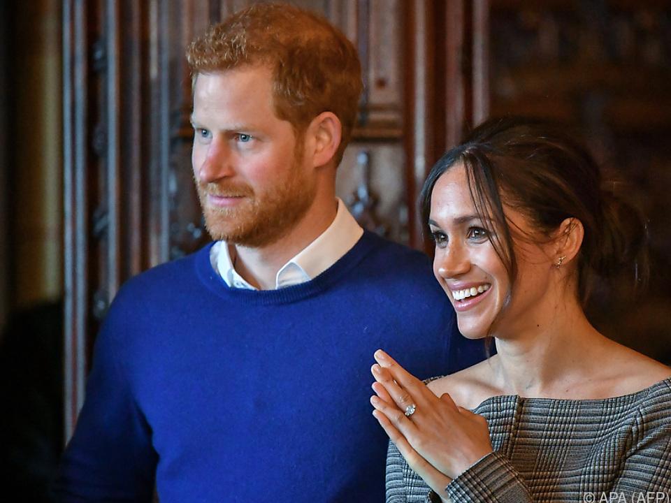 Das Paar hatte Ende November die Verlobung bekanntgegeben