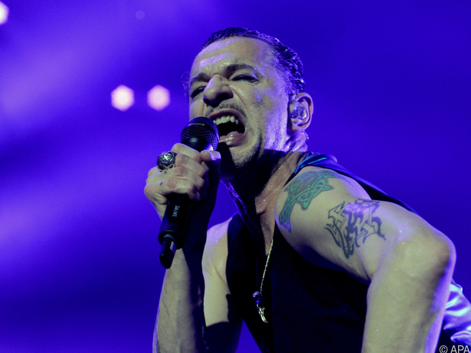 Depeche Mode begeisterten 13.000 Fans in der Wiener Stadthalle