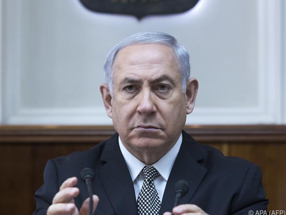 Der israelische Premierminister ist angeschlagen