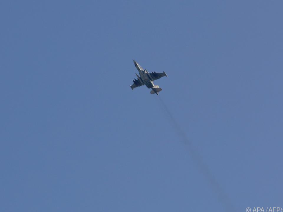 Rebellen in Syrien schiessen russischen Kampfjet ab