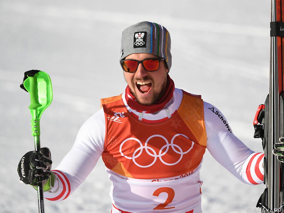 Der Salzburger hat nun seine erste olympische Goldmedaille