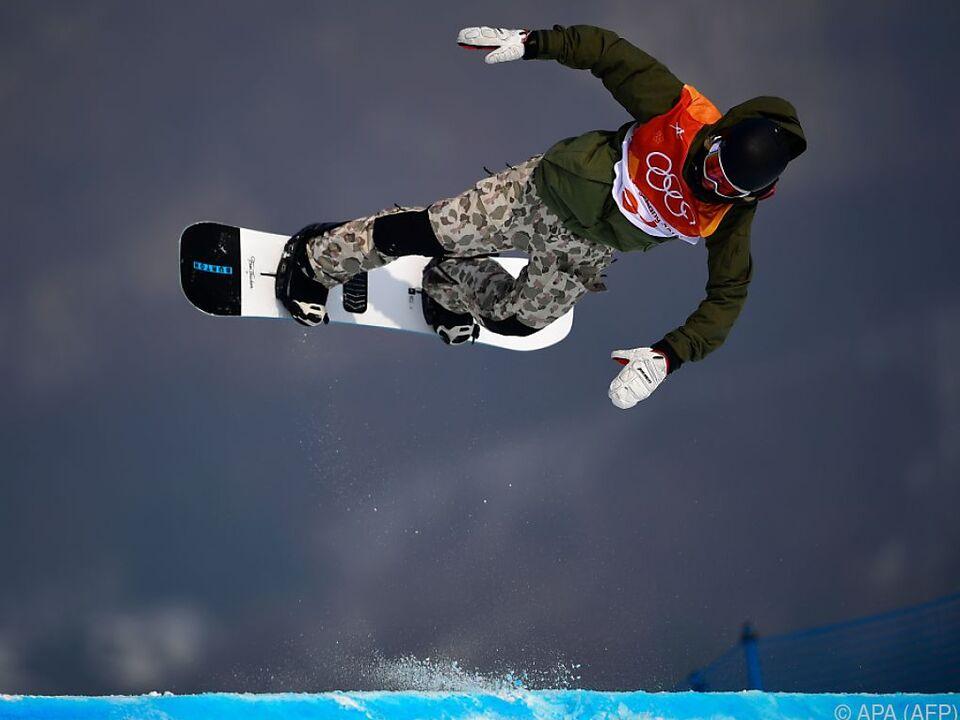 17-jähriger Amerikaner holt Gold im Snowboard-Slopestyle