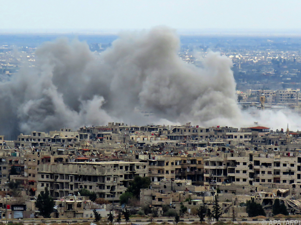Die erste Waffenruhe in Ost-Ghouta war brüchig