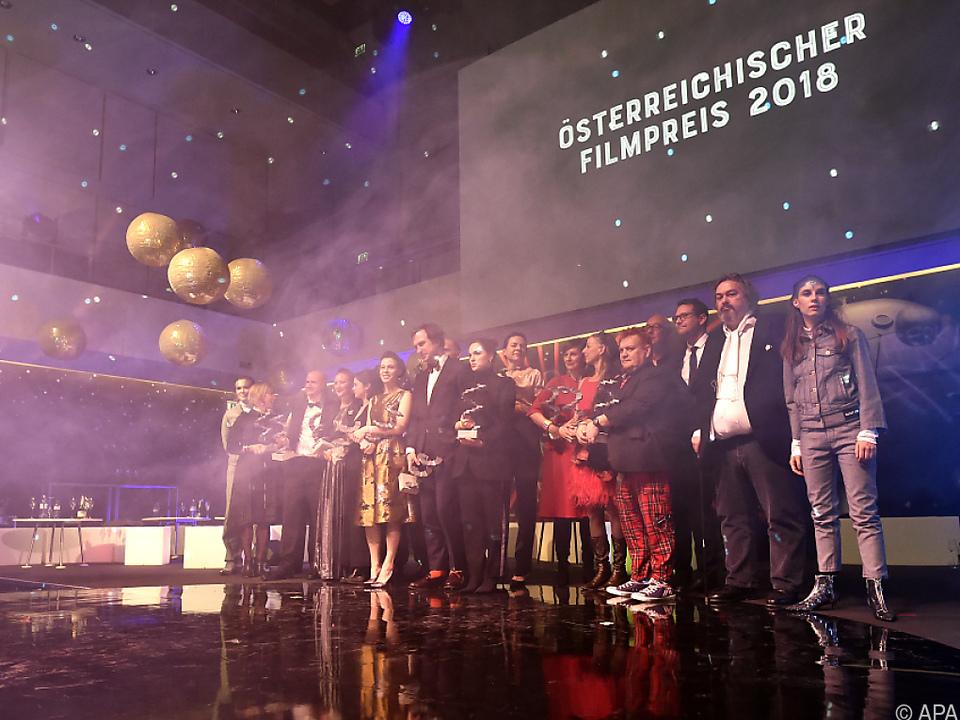 Die Geehrten beim 8. Österreichischen Filmpreis