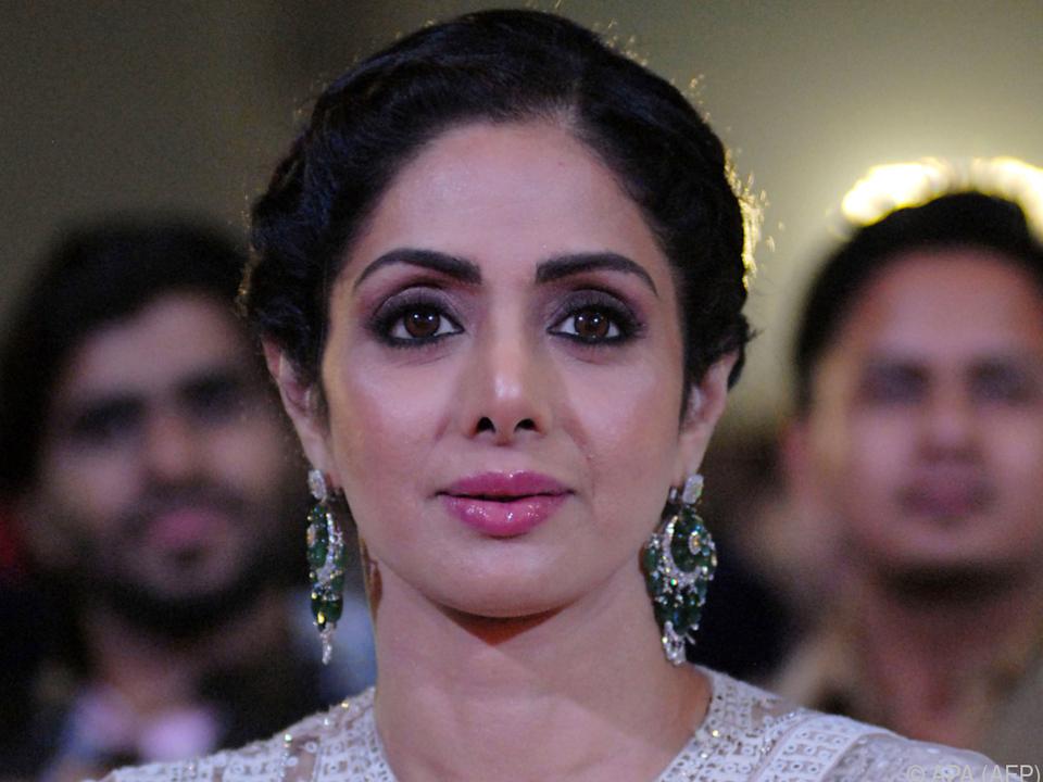 Die indische Schauspielerin verstarb überraschend