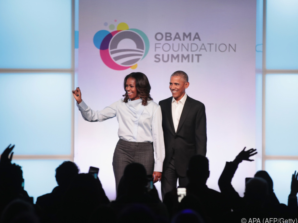 Die Obamas haben genug Arbeit