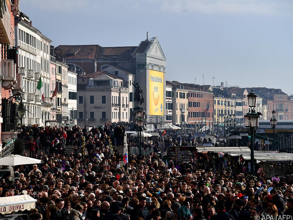 Die Piazza San Marco soll heuer vor Überfüllung geschützt werden