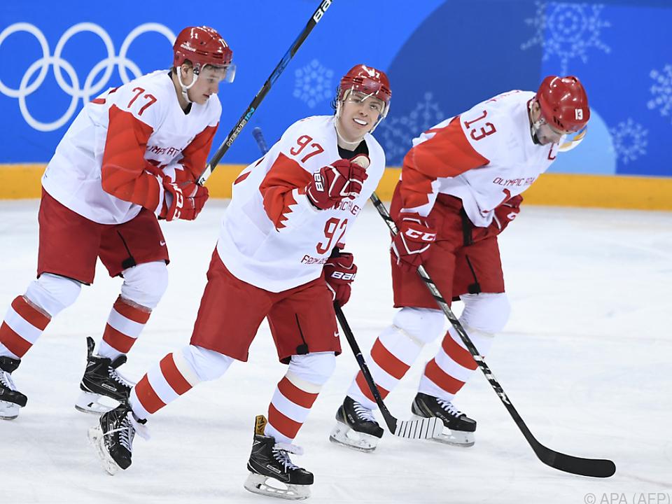 Die Russen stehen erstmals seit 16 Jahren wieder im Endspiel