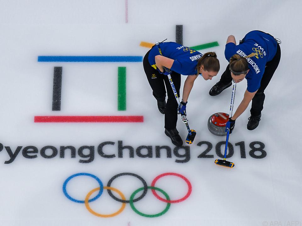 Die Schwedinnen setzten sich gegen Südkorea klar durch