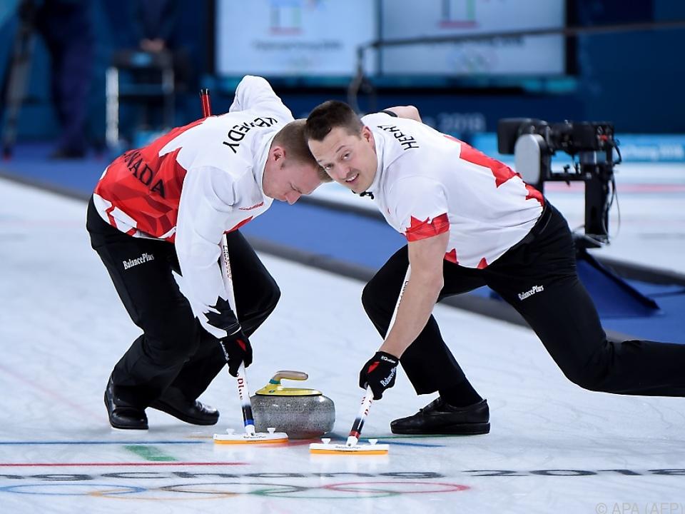 Die Schweizer Curler konnten sich durchsetzen