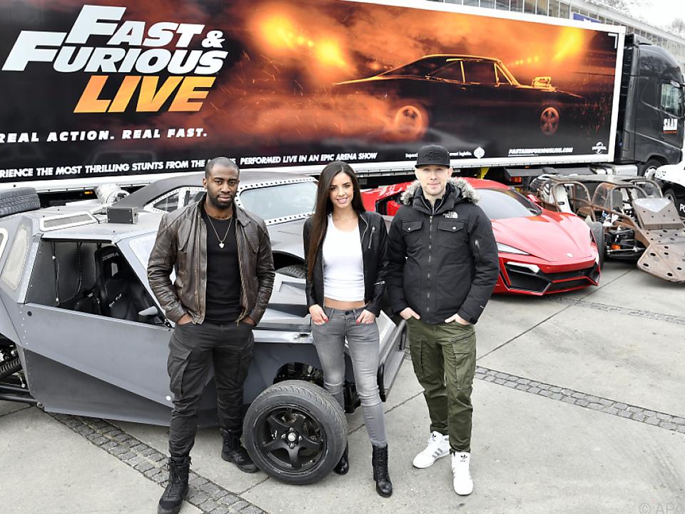 Eigentlich sind die Autos die Stars der Show