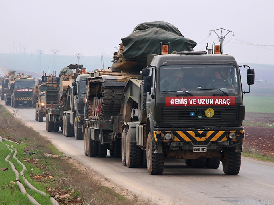 Die türkische Armee rückt immer weiter vor