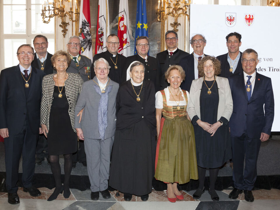 Ehrenzeichen Tirol 2018