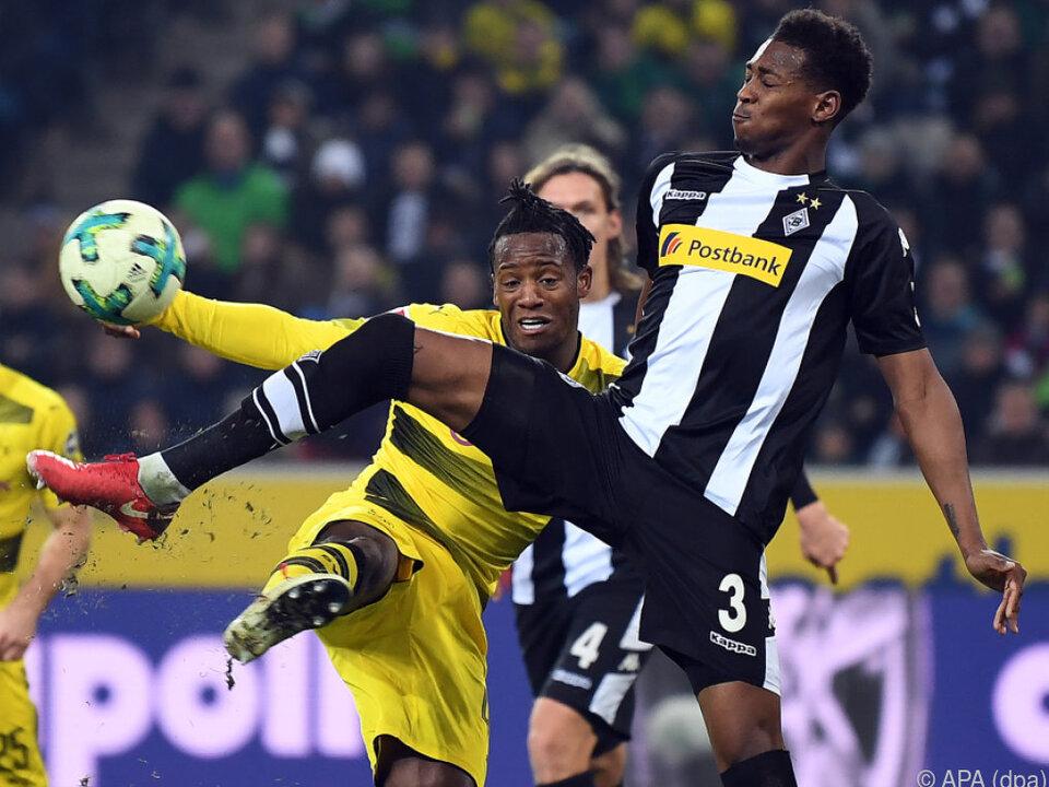 Dortmund zog zwischenzeitlich an RB Leipzig vorbei