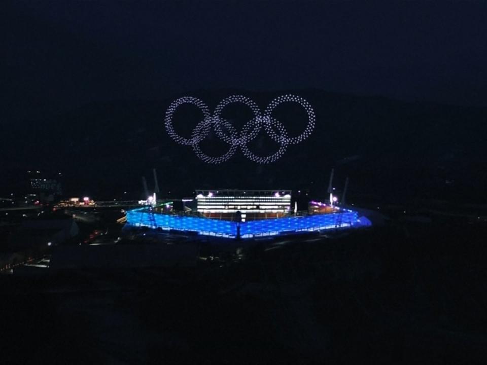Drohnen sorgen bei Olympia für schöne Bilder