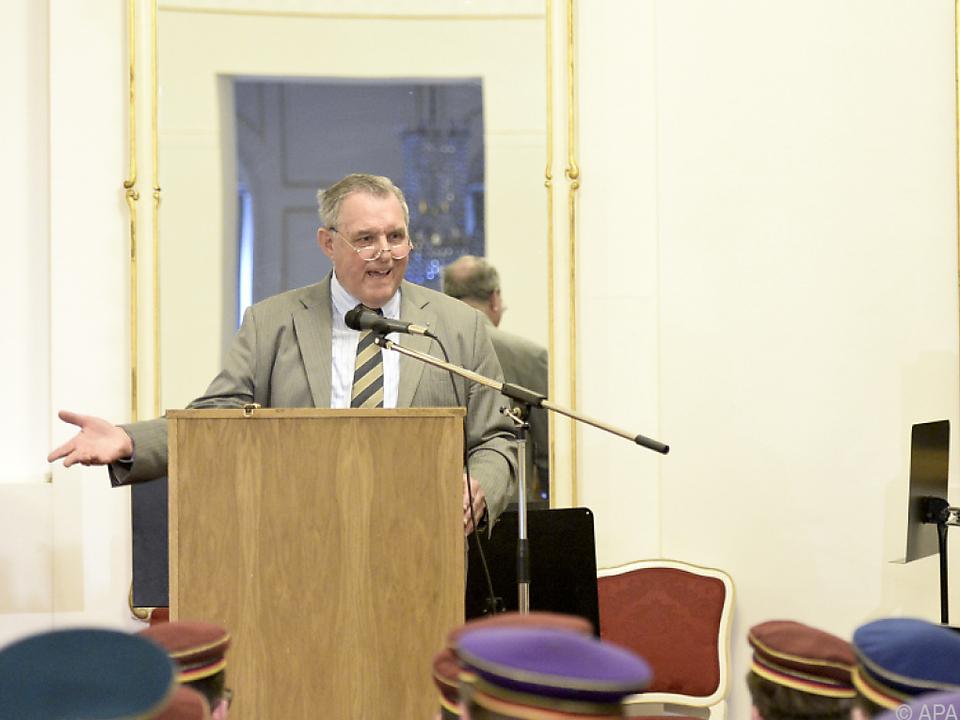 Ehemaliger Dritter Nationalratspräsident Wilhelm Brauneder
