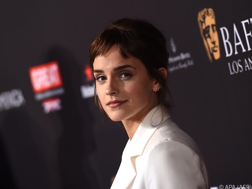 Emma Watson unterstützt die Bewegung mit einer Million Pfund