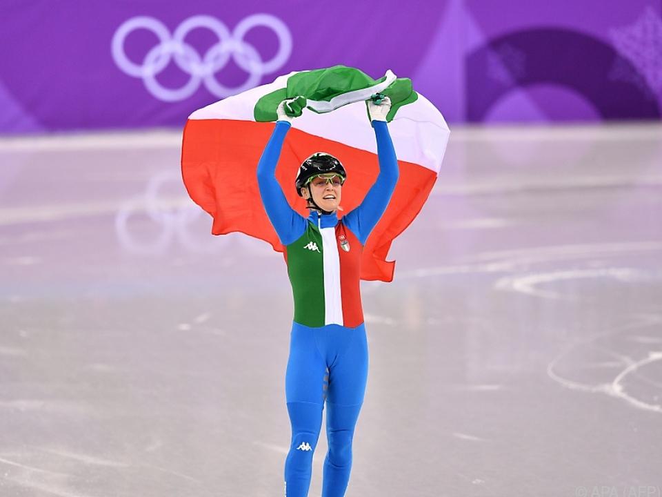Erstes Gold für Italien in Pyeongchang