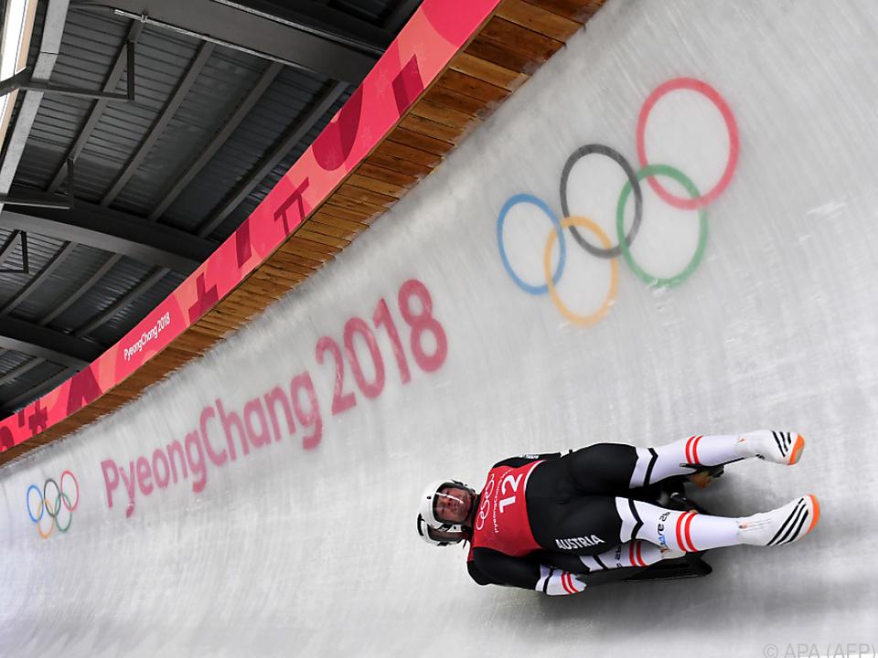 Es ist Österreichs 21. Rodel-Olympiamedaille