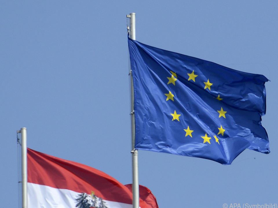 EU in Österreich grundsätzlich beliebt